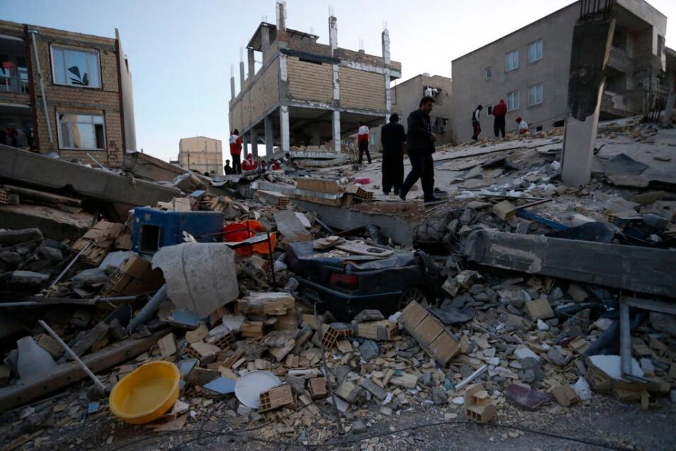 Aumenta a 530 la cifra de fallecidos por el terremoto de Irán gettyimage...