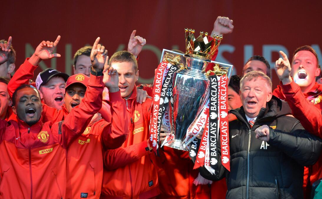 10. Manchester United (2012/2013) - 89 puntos y +43 en la diferencia de...