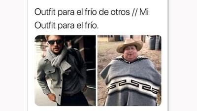 Llegaron los memes para calentar el frío que tiene temblando a México