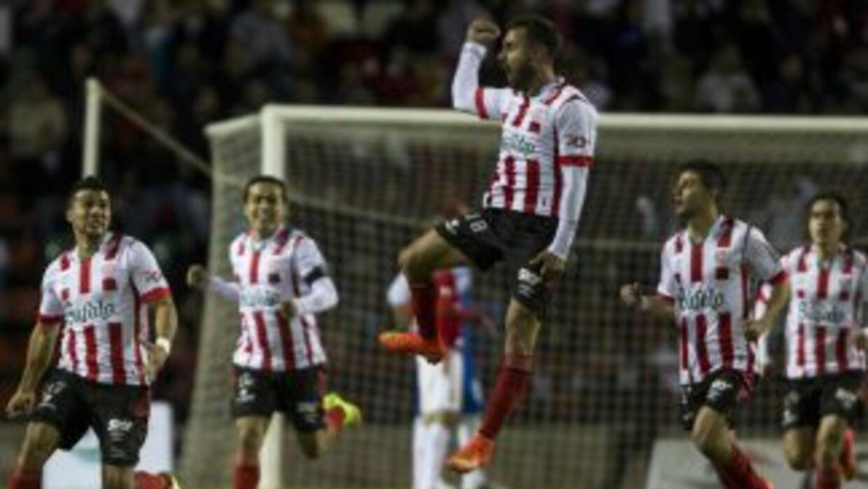 Luis Felipe Gallegos consiguió el gol con el que Rayos alcanzó la final...