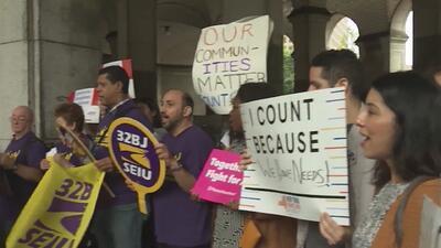 Protestan en Nueva York para que no se incluya pregunta sobre ciudadanía en el censo 2020