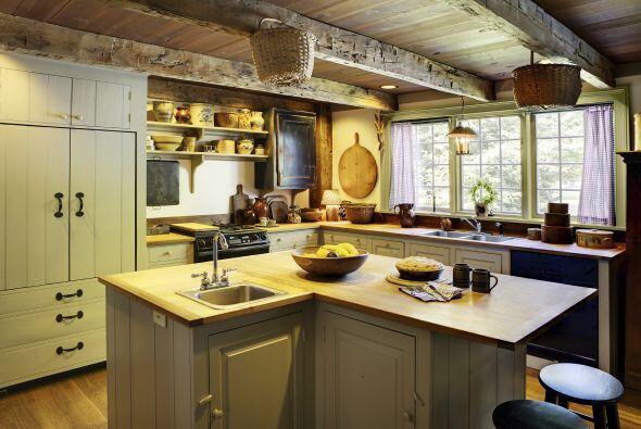 La iluminación de la casa debe ser suave y aportar calidez.
