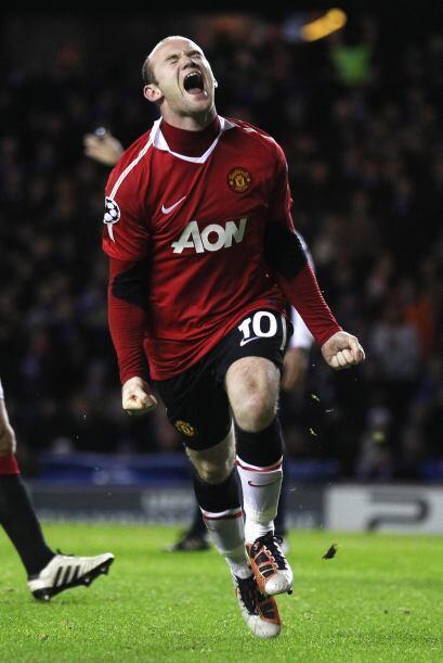 Rooney gritó la anotación como si hubiera sido el tanto ganador en una f...