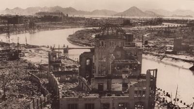 Imágenes de la bomba atómica de Estados Unidos sobre Hiroshima hace 73 años