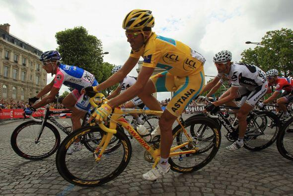 La vigésima y última etapa del Tour se desarrolló entre la localidad de...