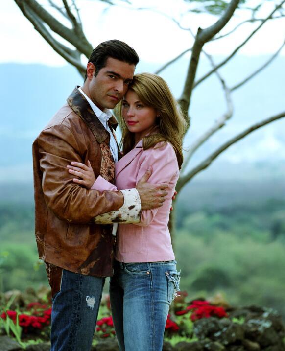 Durante las transmisiones de la telenovela, Pablo Montero y su coprotago...