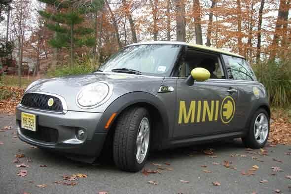 Según sus creadores, el MINI E tiene una autonomía de 155 millas con la...