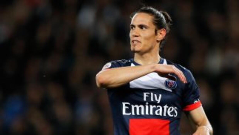 Edinson Cavani desea seguir jugando en el Paris Saint-Germain.