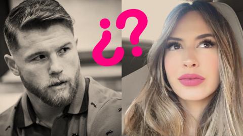 Saúl 'Canelo' Álvarez y  Shannon de Lima vivieron un  roma...