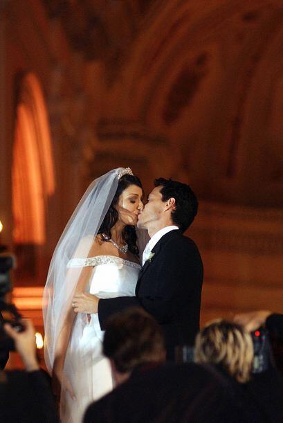 Tiempo atrás, todo era amor del bueno...Con una boda que dio de qué habl...