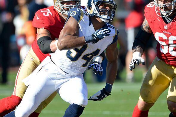 Ala defensivo: Robert Quinn, St. Louis Rams.