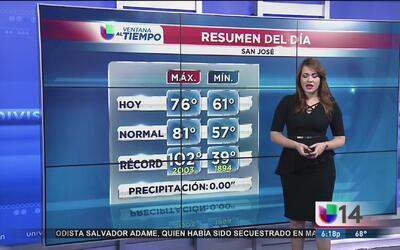 Temperaturas agradables en el Área de la Bahía