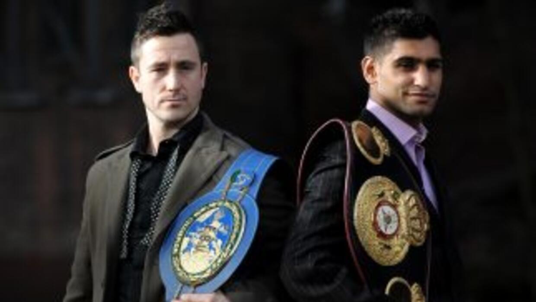 Paul McClokey y Amir Khan se enfrentarán en Manchester este 16 de abril.