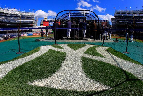 Yankee Stadium sería el escenario del segundo juego de la serie e...