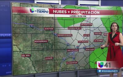 Continúan lluvias y tormentas eléctricas en San Antonio