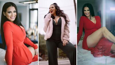Elegante, sexy y coqueta: Carla Medrano presenta su postal de Navidad