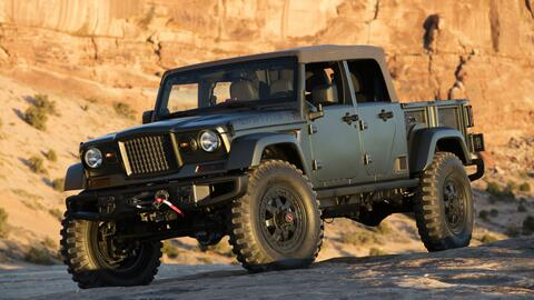 La próxima  pickup de Jeep podría estar basado en el Crew...