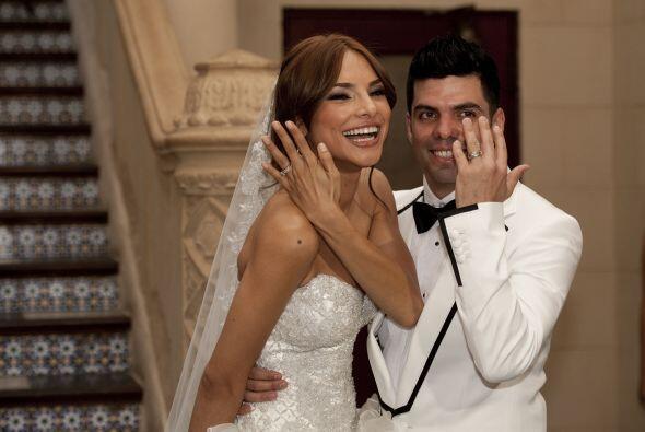 Por fin el tan esperado 10 de septiembre de 2011 llegó y este par pudo j...