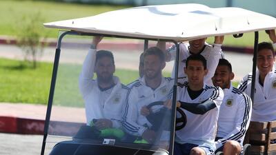 En fotos: Argentina está lista para su debut mundialista este sábado ante Islandia
