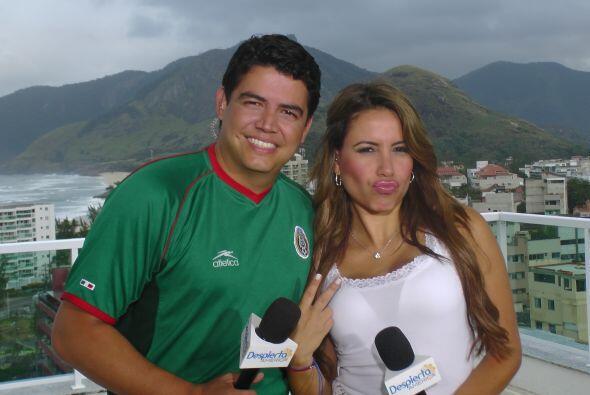 La belleza de Univision Deportes también está presente en el Mundial con...