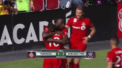 Toronto FC 3-2 Chicago Fire: Giovinco vuelve a ser figura en doble remontada de Fire