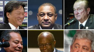 6 dirigentes FIFA rechazan extradición a EEUU