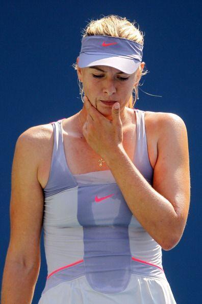 Sharapova tendrá que irse a casa con las manos vacías.