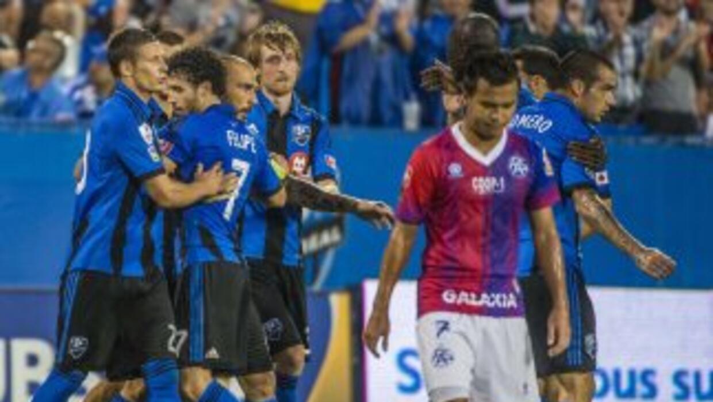 Montreal Impact arrancó con victoria su participación en la CONCACAF.
