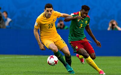 Camerún vs. Australia