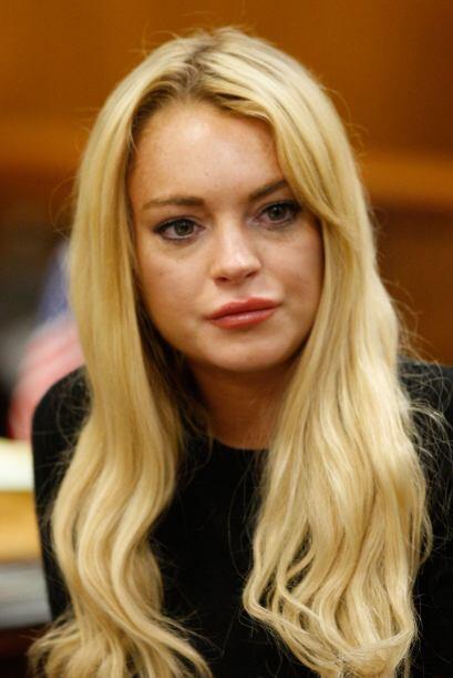 El 24 de septiembre de 2010, Lindsay fue fichada por no pasar una prueba...
