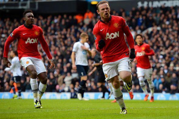 La figura del United no perdonó y empataba una vez más.