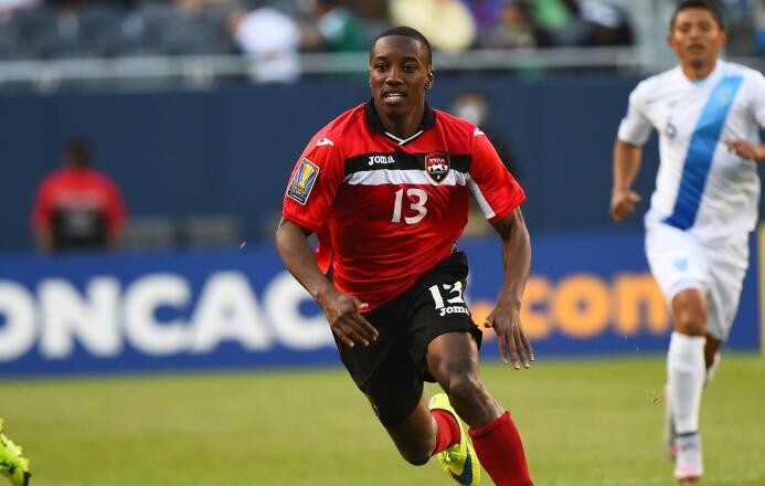 Cordell Cato, jugador de San Jose Earthquakes y Trinidad & Tobago