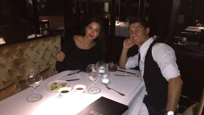 Con una cena tranquila festejaron la gran actuación del portugués.