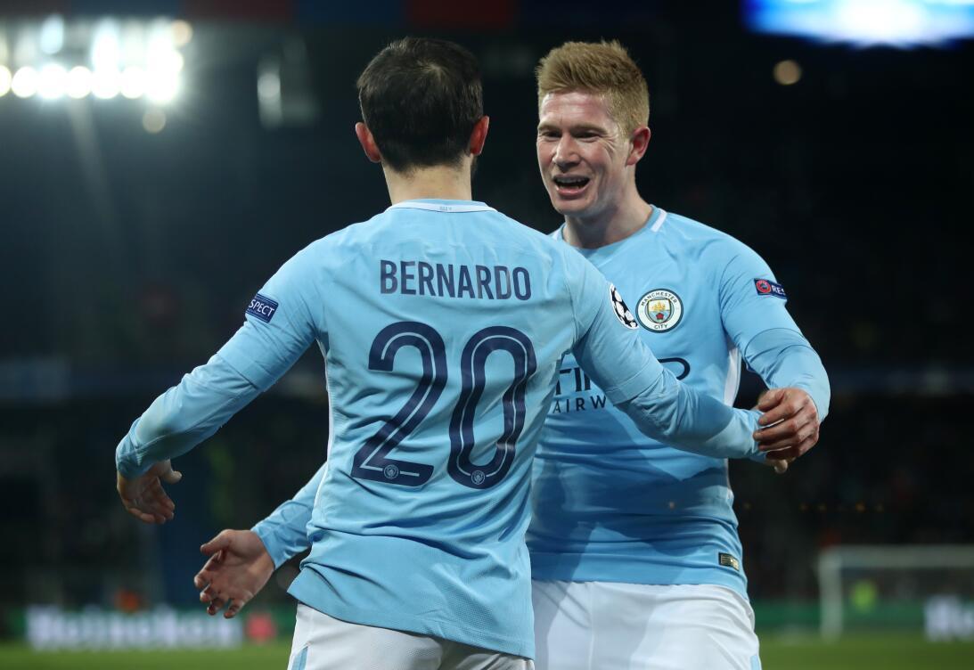 En fotos: Manchester City selló la serie ante el Basel con un 4-0 de vis...