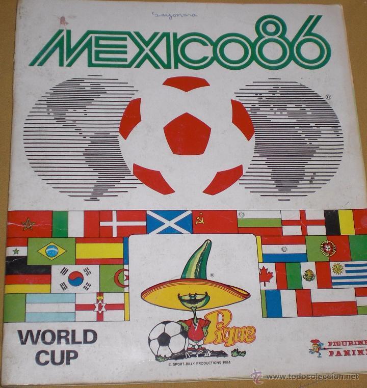Álbumes Panini del Mundial a través del tiempo