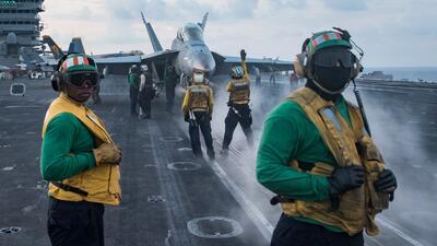 Despliegue de fuerzas militares estadounidenses cerca del Mar de China