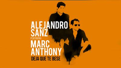 Deja que Alejandro Sanz y Marc Anthony te besen
