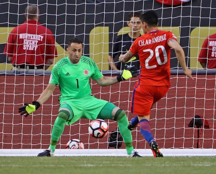 El ranking de los jugadores de Colombia vs Chile GettyImages-542230624.jpg