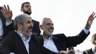 Histórica visita de Jaled Meshal a Gaza