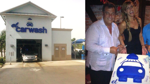 El popular negocio de limpieza de autos El Carwash pertenece a Lili Este...