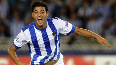 Carlos Vela, con cuatro goles, lideró la remontada y triunfo e la Real S...