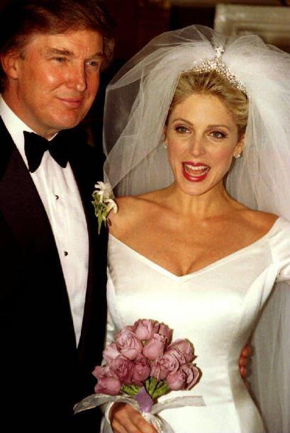 DONALD TRUMP Y MARLA MAPLES- El segundo matrimonio de Trump tambi&eacute...