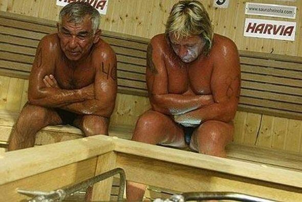 Campeonato Mundial de Sauna en Australia - El que más tiempo dure en el...