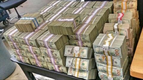Dinero del narco suele ser enviado a la frontera en vehículos, co...