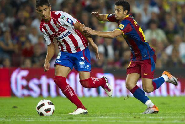 El resto del duelo sólo fue un trámite y el Barcelona se i...