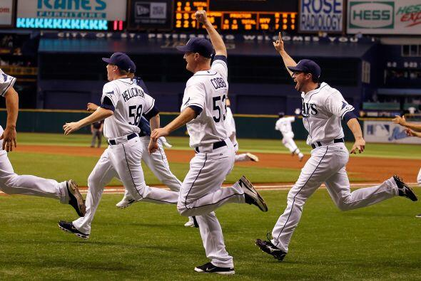 Los Rays de Tampa Bay llegaron a la postemporada de la manera más dramát...