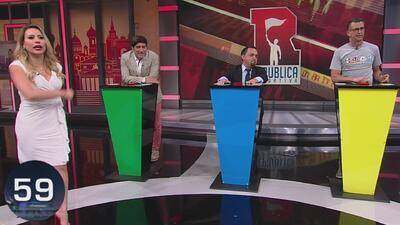 'Bam Bam' Zamorano, Félix Fernández y Elvis Rojas se retaron en La Frase Oculta