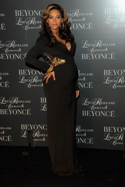 Muchas fueron las especulaciones que el embarazo de Beyonce era fabricad...