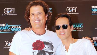 Carlos Vives y Marc Anthony se traen algo entre manos
