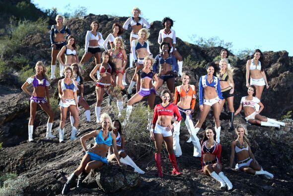 La sexy selección de las porristas para el Pro Bowl 2015 lució en todo s...
